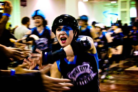 Roller Derby High Fives